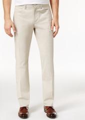 Alfani Men's Big & Tall Slim Fit Cotton Pants, Created for Macy's