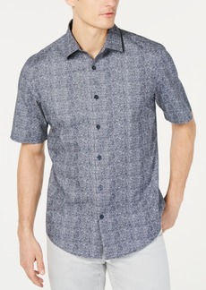 Alfani Men's Flection Print Shirt, Created for Macy's