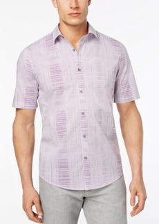 Alfani Men's Geometric Abstract Print Shirt, Created for Macy's
