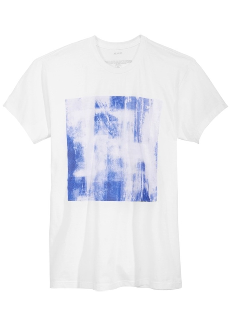 Alfani Alfani Mens Graphic Print T Shirt Created For Macys T Shirts