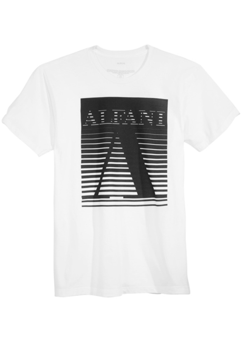 Alfani Alfani Mens Graphic Print T Shirt Created For Macys
