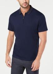 Alfani Men's Interlock Quarter-Zip Polo, Created for Macy's