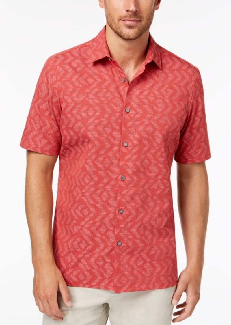 Alfani Men's Jacquard Shirt