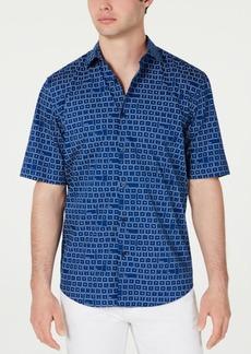 Alfani Men's Keyboard-Print Shirt, Created for Macy's
