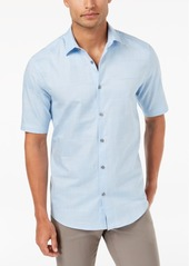 Alfani Men's Layton Fine Striped Shirt, Created for Macy's
