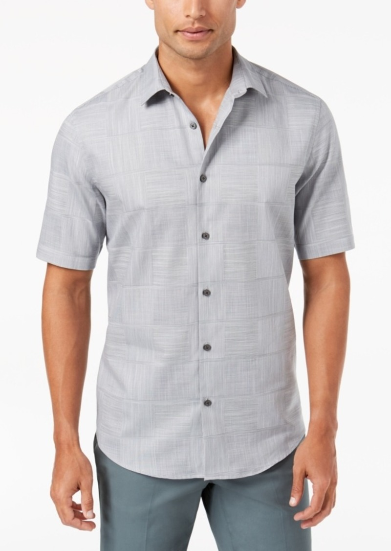 Alfani Men's Layton Fine Striped Shirt, Created for Macy's