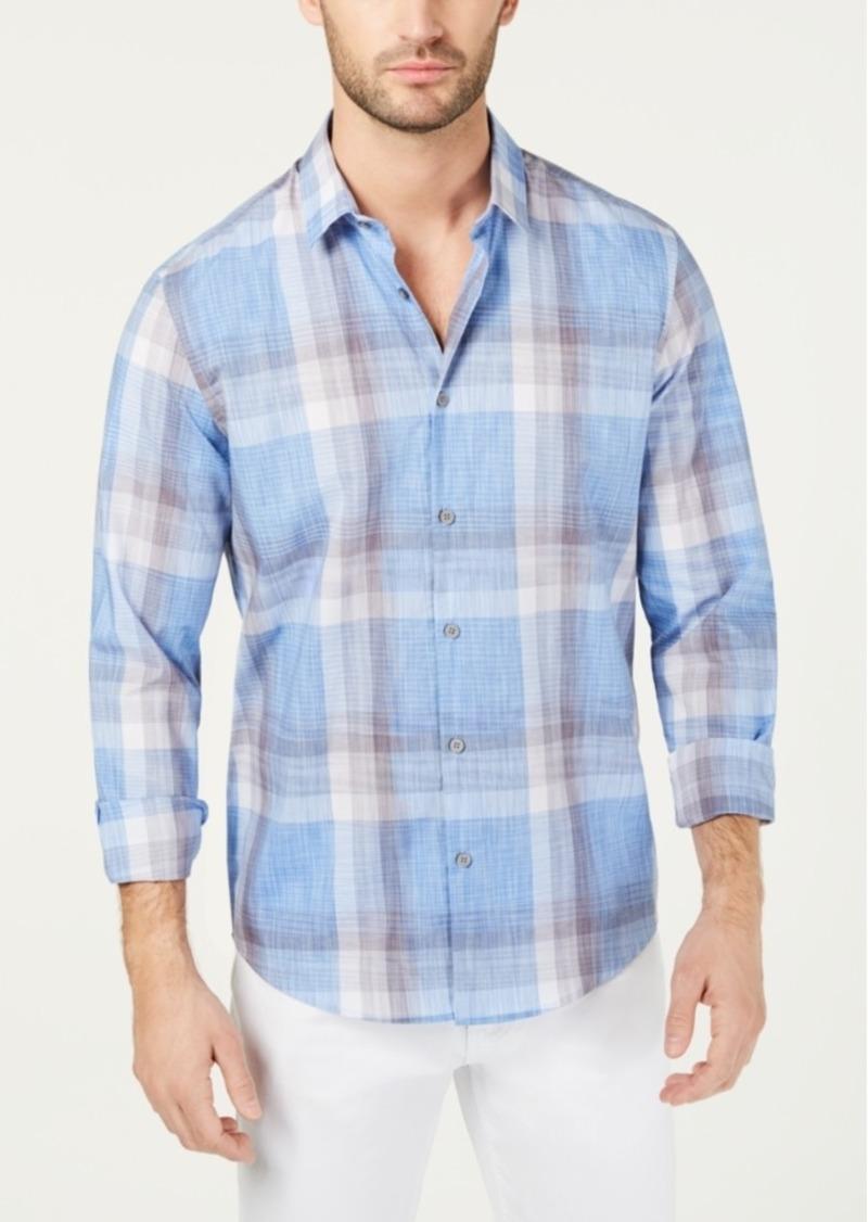 Alfani Men's Novo Plaid Shirt, Created for Macy's