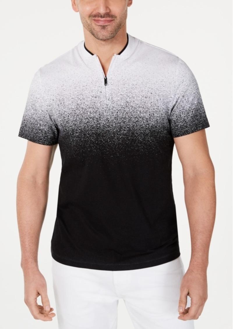 Alfani Men's Ombre Baseball-Collar Shirt, Created for Macy's