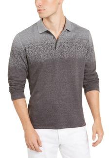 Alfani Men's Ombre Plaid Polo Shirt, Created for Macy's