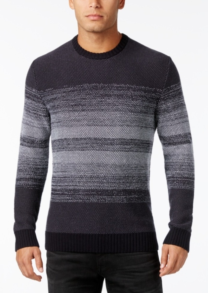 Alfani Men's Ombre Striped Sweater, Only at Macy's