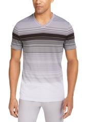 Alfani Men's Ombre Striped V-Neck T-Shirt, Created for Macy's
