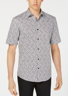 Alfani Men's Penguin-Print Shirt, Created for Macy's