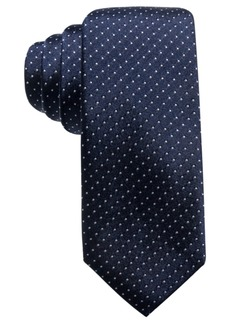 Alfani Men's Pindot Slim Silk Tie, Created for Macy's