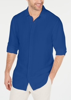 Alfani Men's Platoon Linen Shirt, Created for Macy's