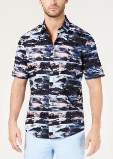 Alfani Men's Stretch Printed Shirt, Created for Macy's