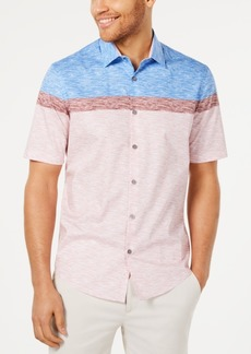 Alfani Men's Stretch Printed Shirt, Created for Macy's