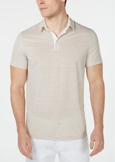Alfani Men's Regular-Fit End-On-End Stripe Polo, Created for Macy's