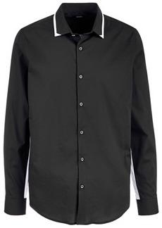 Alfani Men's Regular Fit Menlo Contrast Stretch Shirt, Created for Macy's