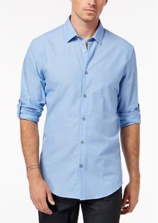 Alfani Men's Regular Fit Ottoman Textured Shirt, Created for Macy's