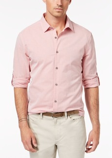 Alfani Men's Textured Cotton Shirt, Created for Macy's