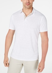 Alfani Men's Regular-Fit Linen-Blend Polo Shirt, Created for Macy's