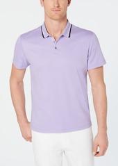 Alfani Men's Regular-Fit Tipped Polo, Created for Macy's