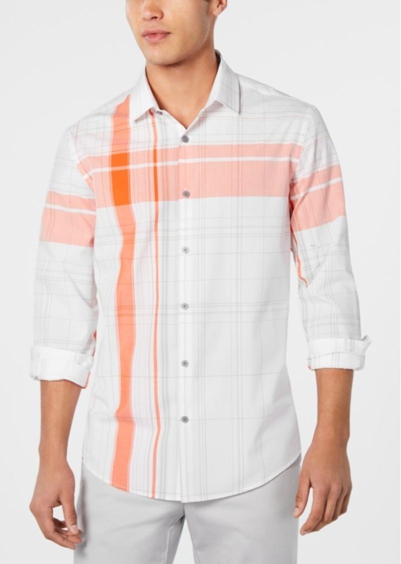Alfani Men's Scotty Plaid Shirt, Created for Macy's