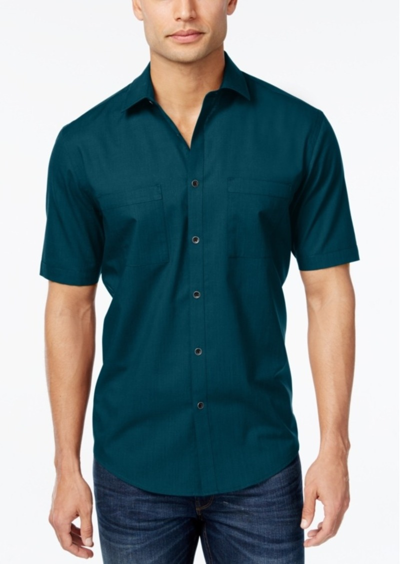 Alfani Men's Short-Sleeve Shirt, Classic Fit
