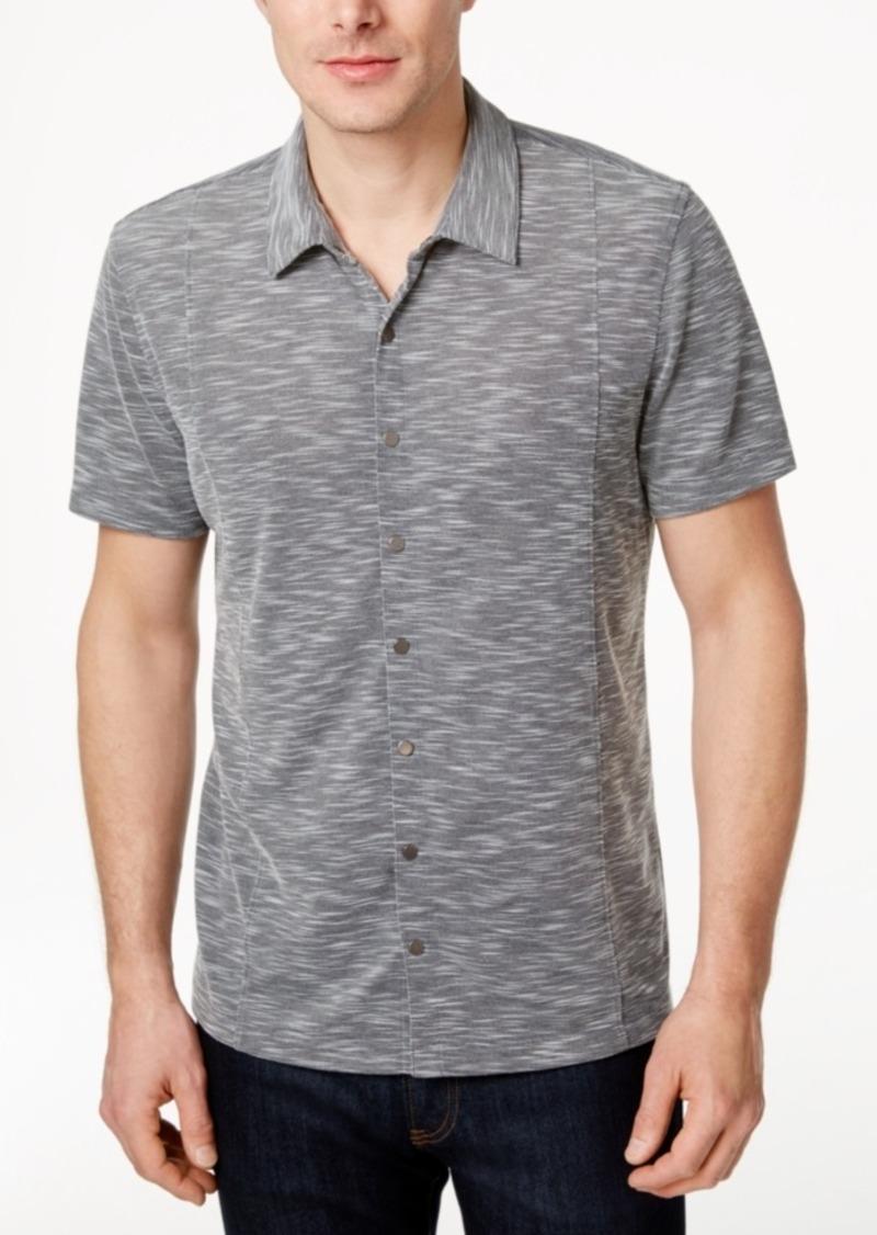 Alfani Men's Short-Sleeve Shirt, Only at Macy's