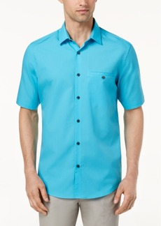 Alfani Men's Solid Shirt, Created for Macy's