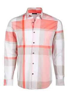 Alfani Men's Sorento Plaid Shirt, Created for Macy's