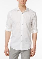 Alfani Men's Textured Cotton Shirt, Created for Macy's