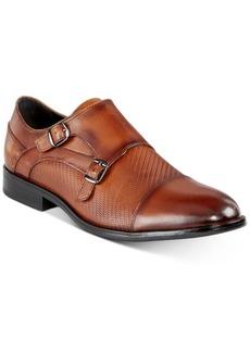 Alfani Men's Thatcher Textured Double Monk-Strap Shoes, Created for Macy's Men's Shoes