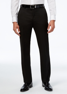 Closeout! Alfani Men's Traveler Solid Classic-Fit Pants, Created for Macy's
