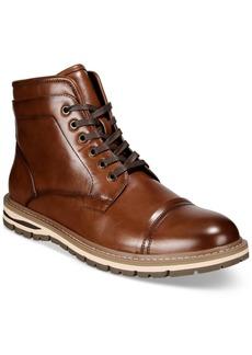 Alfani Men's Travis Cap-Toe Lace-Up Boots, Created for Macy's Men's Shoes