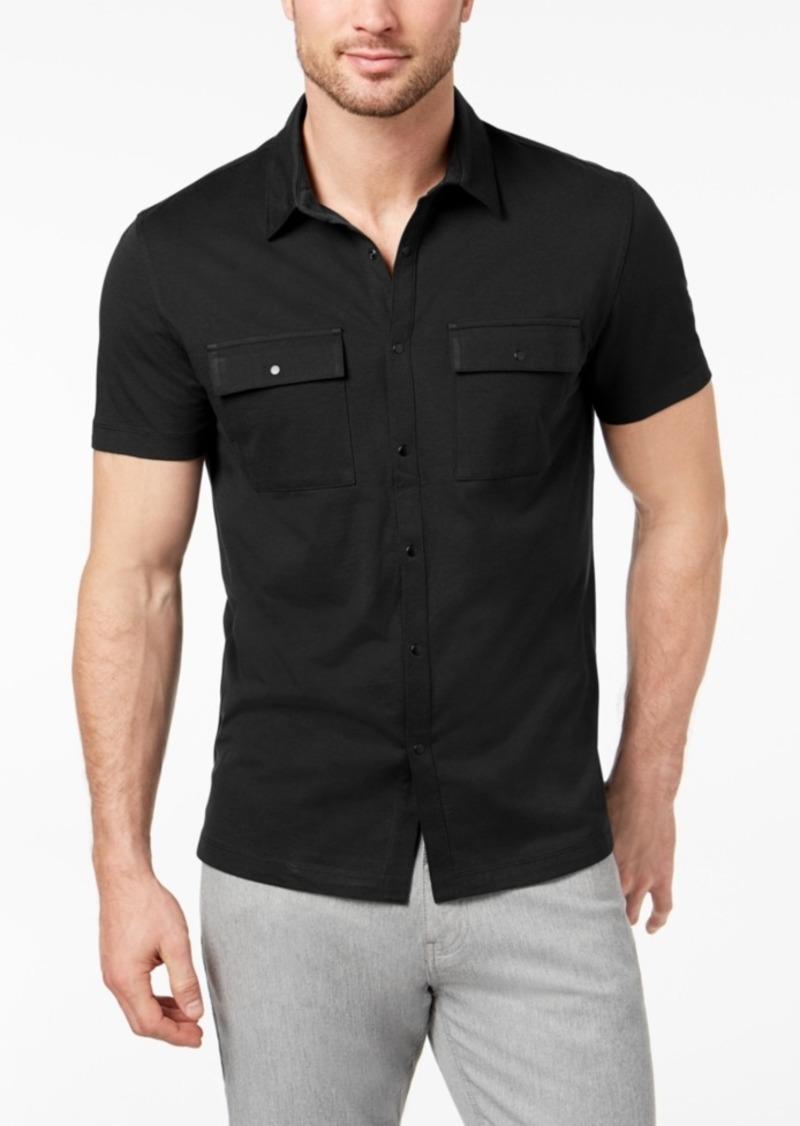 Alfani Men's Utility Shirt, Created for Macy's