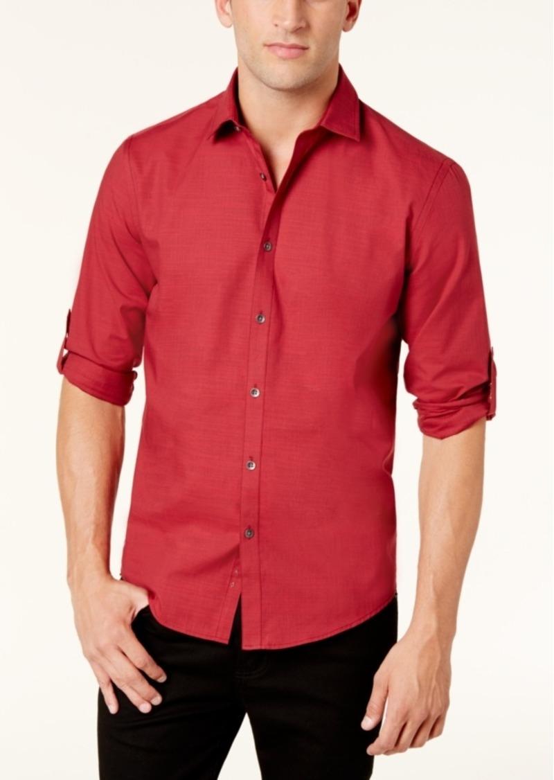 d3ff0cae456 Alfani Alfani Men s Warren No Pocket Long Sleeve Shirt