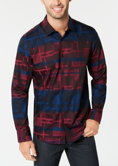 Alfani Men's Wokie Jacquard Shirt, Created for Macy's