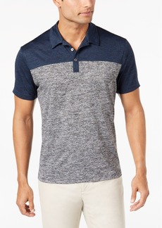 Alfani Men's Wrinkle-Resistant Colorblocked Ethan Polo, Created for Macy's