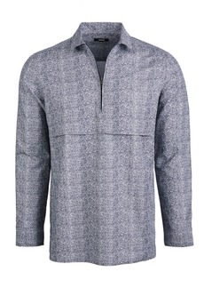 Alfani Men's Zip-Front Shirt, Created for Macy's