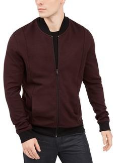Alfani Men's Zip-Front Sweater Jacket, Created for Macy's
