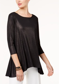 Alfani Metallic Swing Top, Created for Macy's
