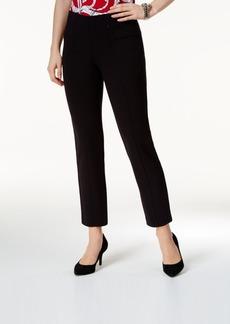Alfani Mid-Rise Slim-Leg Pants, Created for Macy's
