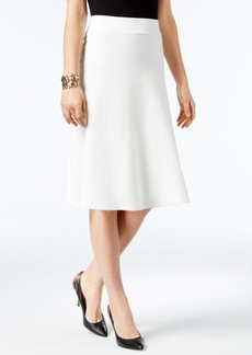 Alfani Milano Fit & Flare Sweater Skirt, Only at Macy's