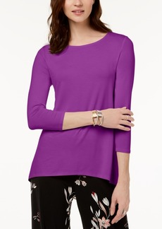 Alfani Mixed-Media Top, Created for Macy's
