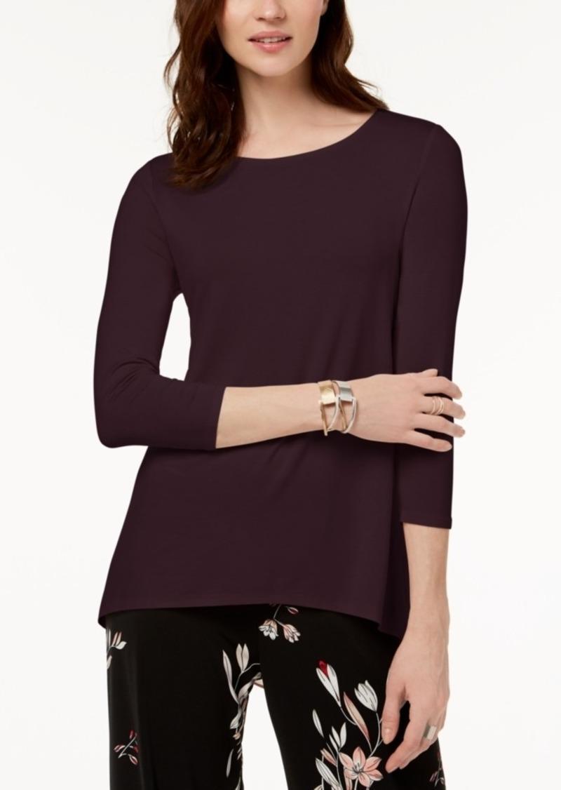 e46e39ce3b2 Alfani Alfani Woven-Back Top, Created for Macy's | Casual Shirts