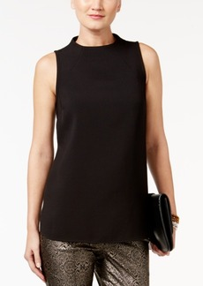 Alfani Mock-Neck Top, Only at Macy's