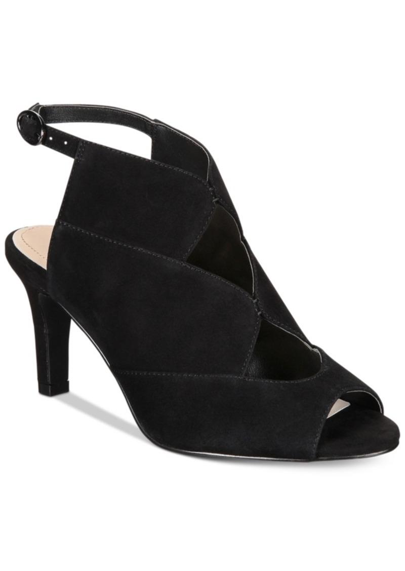 Alfani Nayaah Peep Toe Shooties, Created for Macy's Women's Shoes