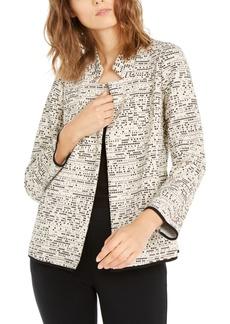Alfani Notch-Collar Printed Jacket, Created For Macy's