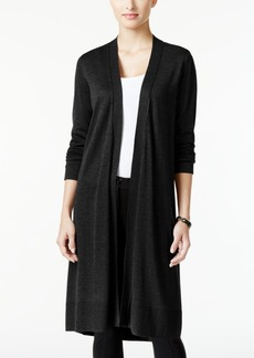 Alfani Open-Front Long Cardigan, Only at Macy's